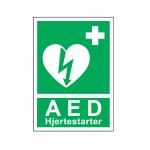 AED_skilt