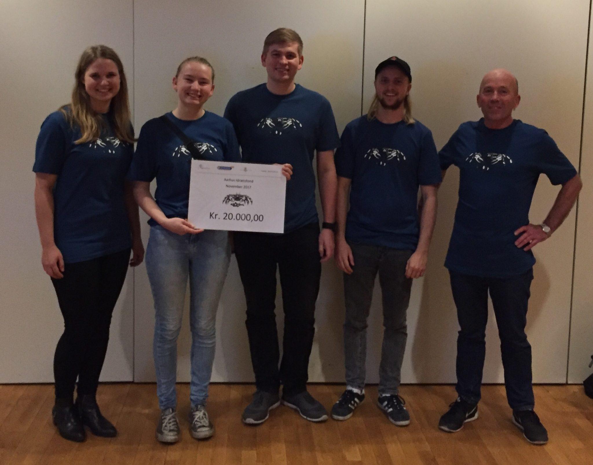 Uddeling af fondsmidler ved Aarhus Idrætsfond