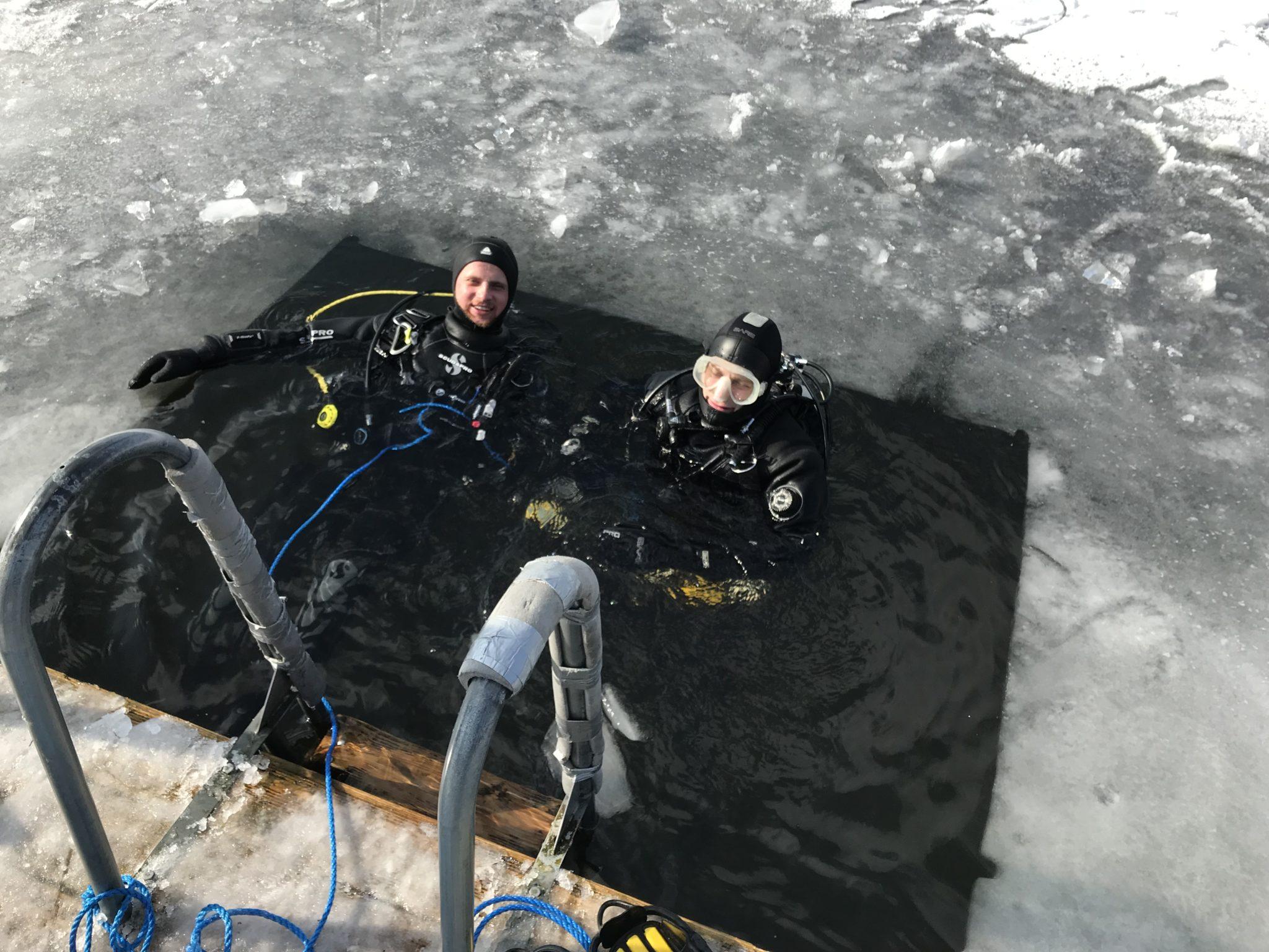 Isdyk Almind Sø 04-03-2018